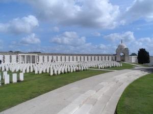 Tyne Cot Cemetery.
