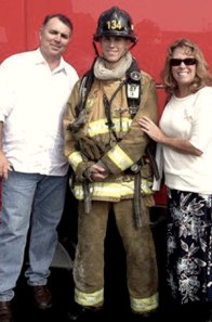 Kevin Woyjeck with his parents, Joe & Anna.