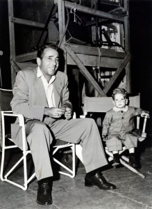 Bogart and dad